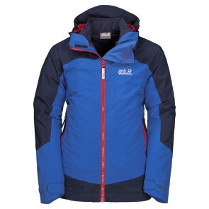 Jack Wolfskin Ropi 3In1 Jacket Boys coastal blue-20
