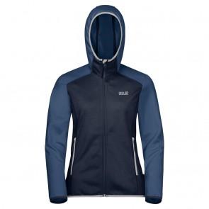 Jack Wolfskin Hydro Hooded Jacket W midnight blue-20