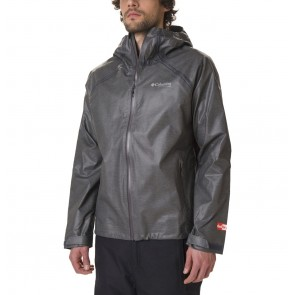 Columbia Outdry Ex Reign Jacket XL Charcoal Heather-20