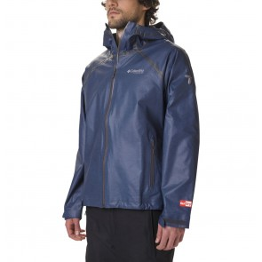 Columbia Outdry Ex Reign Jacket Collegiate Navy Heather-20