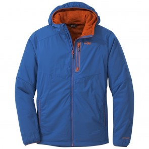 Outdoor Research Men's Ascendant Hoody cobalt/burnt orange-20