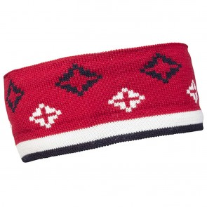 Dale of Norway Seefeld headband Raspberry / navy / off white-20