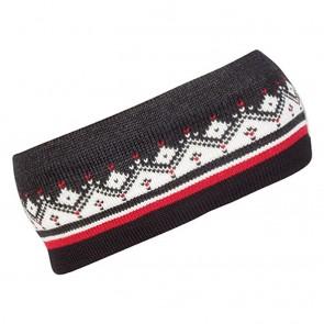 Dale of Norway Moritz Headband Dark charcoal / Raspberry / Off white / Black-20