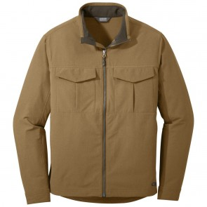 Outdoor Research Men's Prologue Field Jacket saddle heather-20