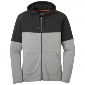 Outdoor Research Men's Fifth Force Hoody charcoal heather/black-20
