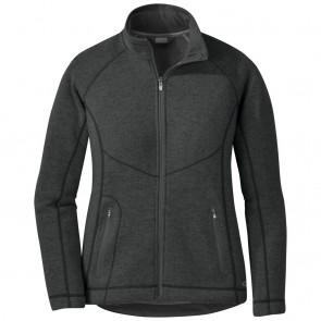 Outdoor Research Women's Vashon Fleece Full-Zip charcoal heather-20