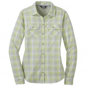 Outdoor Research OR Women's Passage L/S Shirt alloy plaid-20