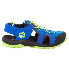 Jack Wolfskin Outdoor Action Sandal K blue / lime-20
