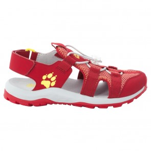 Jack Wolfskin Outdoor Action Sandal K red / lemon-20