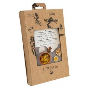 Forestia Hühnchen Madras mit Langkorn und Wildreis Self Heating (8 Pack)-20