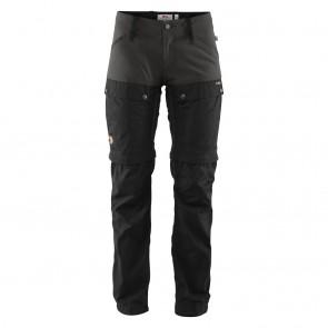 FjallRaven Keb Gaiter Trousers W Black-Stone Grey-20