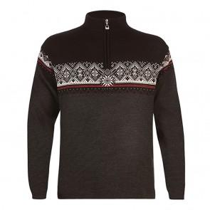Dale of Norway Moritz Masc Sweater dark charcoal / raspberryblack / off white-20