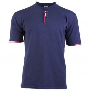 Dale of Norway Fredrik Masculine T-shirt navy mel. / off white mel. / raspberry-20
