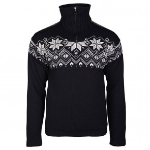 Dale of Norway Fongen WP Masc Sweater Black/ off white/ smoke/ light charcoal-20