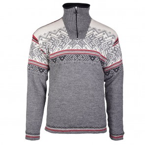 Dale of Norway Vail WP Masc Sweater Smoke / Raspberry / Off white / Dark charcoal / Light charcoal-20