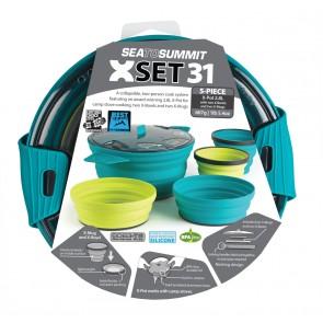 Sea To Summit X-Set: 31 5pc (X-Pot 2.8L, 2 X-Bowls, 2 X-Mugs)-20