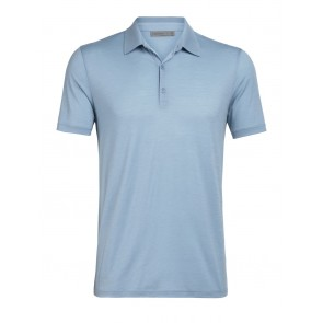 Icebreaker Mens Tech Lite SS Polo Waterfall-20