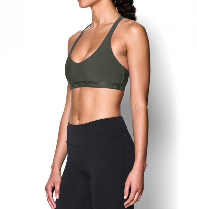 Under Armour Women s Armour Low Sports Bra Downtown Green (330)-00 461b7ce1ee