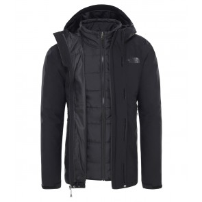 The North Face Men's Carto Zip-In Triclimate Jacket TNF BLACK/TNF BLACK-20