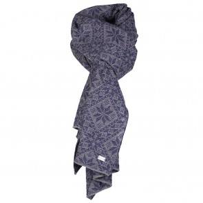 Dale of Norway Flora Scarf Electric storm/Smoke-20
