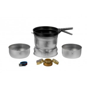 Trangia Storm Cooker 25-23 UL/D Large, Duossal with Non-Stick Frypan without Kettel-20