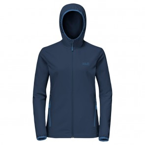 Jack Wolfskin Turbulence Jacket Women S dark indigo-20