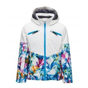 Spyder Conquer Jacket Girls 962 Eureka Print-20