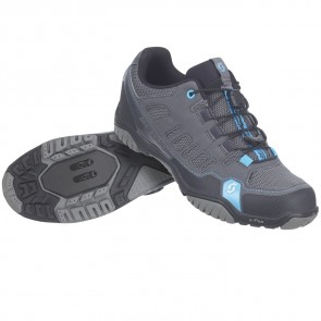 Scott Shoe Sport Crus-r Lady anthracite/neon blue-20