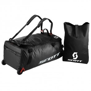 Scott Bag Wheel Duffle 110 black/red clay-20