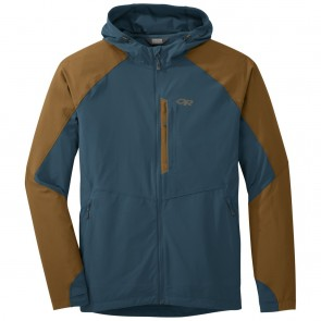 Outdoor Research Men's Ferrosi Hooded Jacket peacock/saddle-20