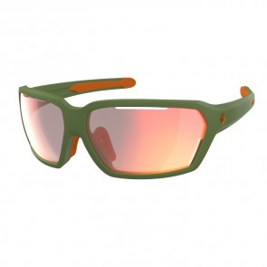Scott Sunglasses Vector dark green matt red chr enh-20