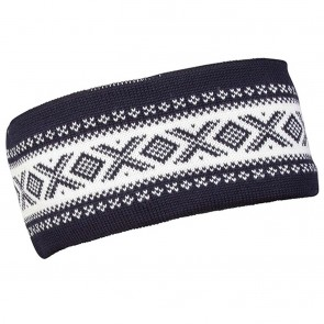 Dale of Norway Cortina Merino headband Navy / off white-20