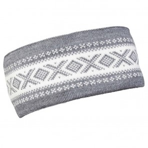 Dale of Norway Cortina Merino headband Smoke / off white-20