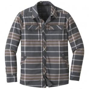 Outdoor Research Men's Kalaloch Reversible Shirt Jckt storm plaid-20