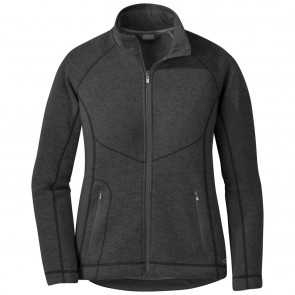 Outdoor Research Women's Vashon Fleece Full-Zip charcoal heather-20
