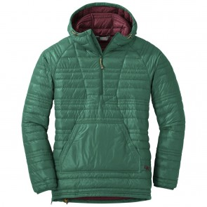 Outdoor Research Women's Down Baja Pullover hemlock/zin-20