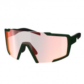 Scott Sunglasses Shield iris green red chr enh-20