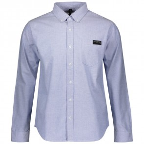 Scott Shirt M's 10 Casual l/sl blue oxford-20