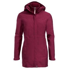 VAUDE Women's Idris 3in1 Parka II 36 passion fruit-20