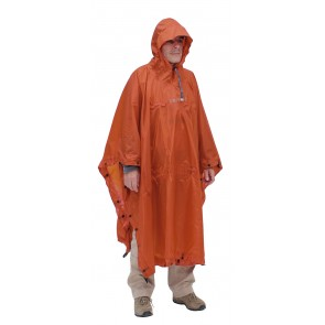 EXPED Bivy-Poncho terracotta-20