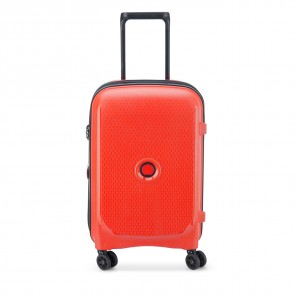 Delsey Belmont Plus 4 Double Wheels Expandable Cabin Trolley 55 CM Faded Red-20