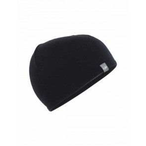 Icebreaker Adult Pocket Hat Black/Gritstone HTHR-20