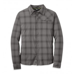 Outdoor Research Men's Astroman L/S Shirt pewter/charcoal-20