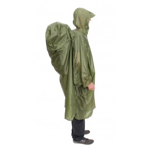 EXPED Pack Poncho UL green-20