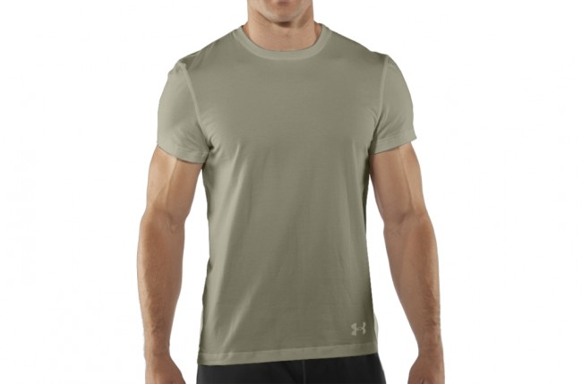 Under Armour UA Tactical Charged Cotton T-Shirt Desert Sand