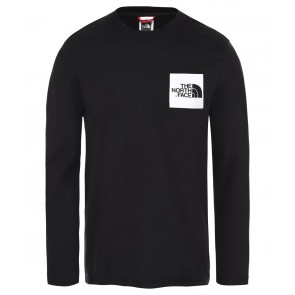 The North Face Men's Fine Long-Sleeve T-Shirt TNF BLACK/TNF WHITE-20