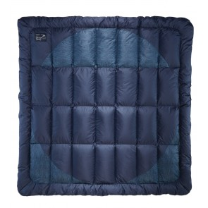 Therm-A-Rest Ramble Down Blanket 224 x 224 cm Eclipse Blue-20