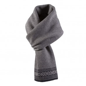 Dale of Norway Harald Scarf sand mel. / Dark Charcoal mel.-20