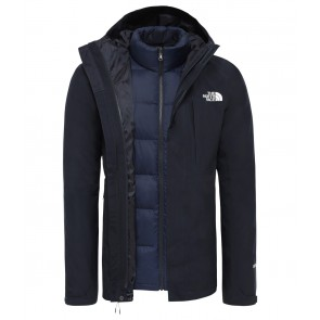 The North Face Men's Mountain Light GORE-TEX Zip-In Triclimate Jacket URBAN NAVY-20