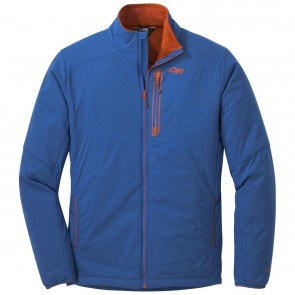 Outdoor Research Men's Ascendant Jacket cobalt/burnt orange-20